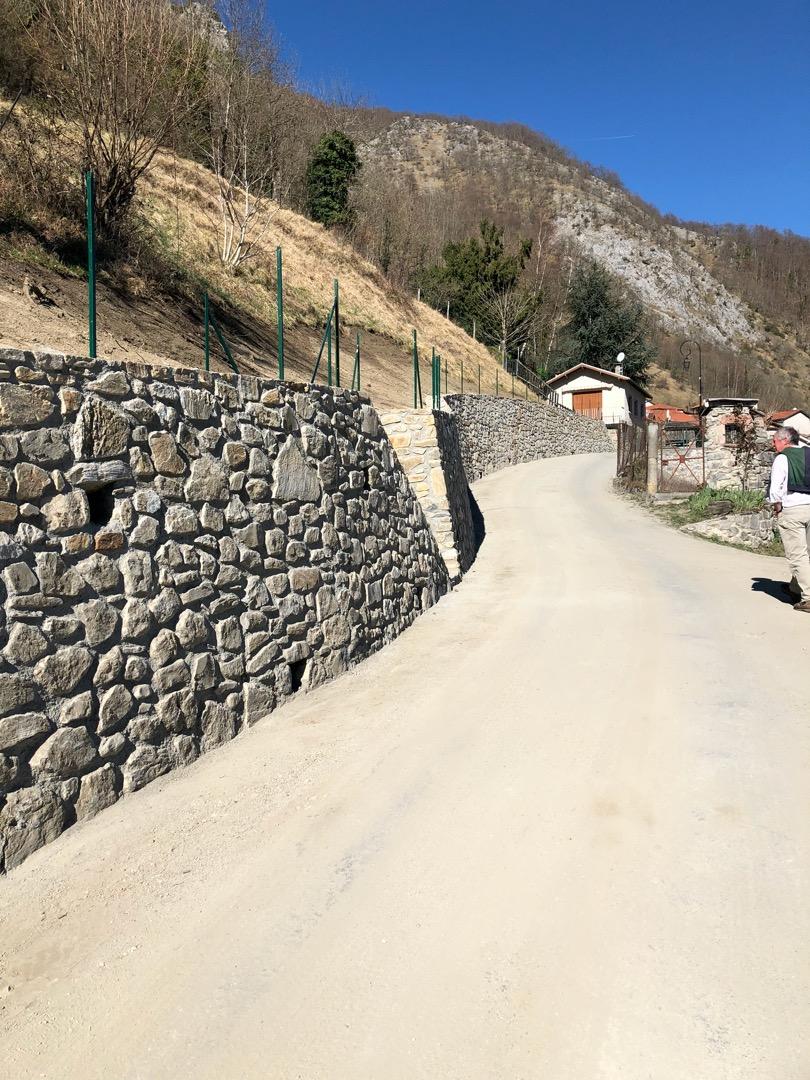 Mur de soutènement à SOST (65)