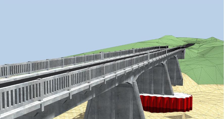 Réhabilitation du pont de SORDE L'ABBAYE (40)