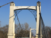 Pont de Riscle avant travaux